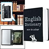 1 X Mini Dictionary Diversion Book Safe w/ Key Lock - Metal