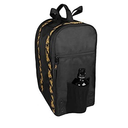622915ab66 The Glo Bag The Ultimate Gym Locker Organizer Backpack  Gold  Amazon.co.uk   Sports   Outdoors