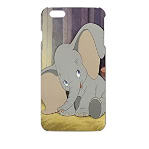 So Cute and Nice Dumbo Plastic 3D Phone Case For Iphone6plus (5.5inch)