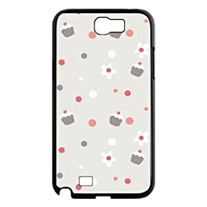 Polka dot Phone Case For Samsung Galaxy Note 2 N7100 [Pattern-1]