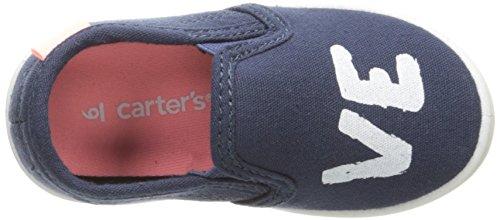 Carter's Girls' Tween Slip On, Navy, 10 M US Toddler by Carter's (Image #8)