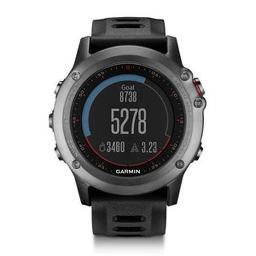Garmin fenix 3 GPS Watch, Gray (Certified Refurbished)