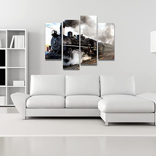 home, kitchen, wall art,  posters, prints 7 on sale Home For Art INC-Train with Gray Smoke promotion