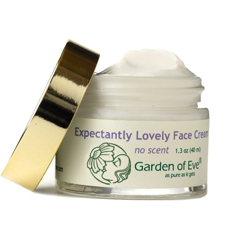 Garden of Eve Expectantly Lovely Face Cream - No Scent (Unscented, Fragrance-Free, Pregnancy safe) (Sensitive, Hydrating, Certified Organic Ingredients)(No synthetic ingredients) 1.3 oz