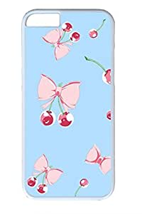 Bow And Cherries Slim Soft For SamSung Note 2 Case Cover Case PC White Cases