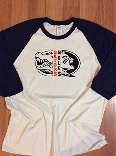Handmade College Football House Divided Florida Gator Florida State Noles Gators