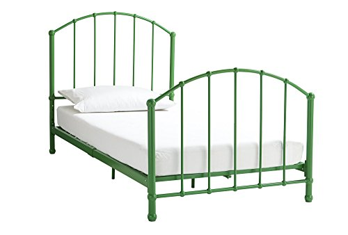 DHP 3293096 Green Brick Mill Ivy Metal Bed, Twin