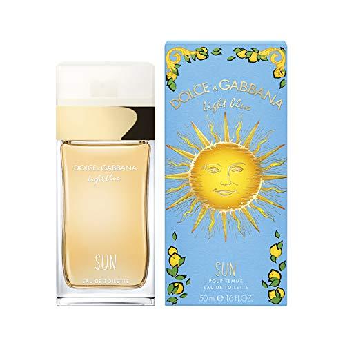 Light Blue Sun by Dolce & Gabbana Eau De Toilette Spray 1.7 oz Women