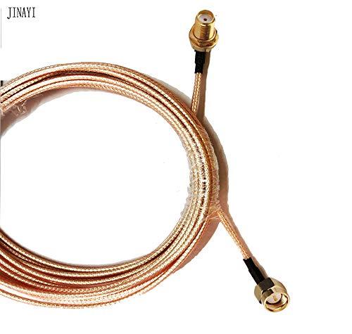 - Davitu SMA Female Jack to SMA Male Plug Jumper Pigtail Cable 50-1.5 RG316 1m 3m 10m - (Color: 5m)