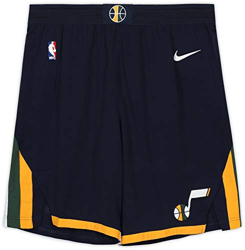 Utah Jazz Team-Issued Navy Shorts from the 2017-18 NBA Season - Fanatics Authentic Certified - Game Used NBA Shorts