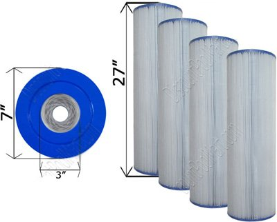 - 4) Pack NEW Unicel C-7459 Pool/Spa Filter Cartridge JANDY PJAN85 CL340 FC-0800