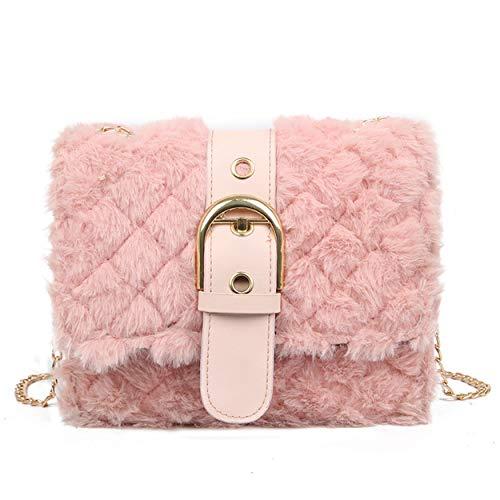cool nik Womens Faux Fur Evening Clutch, Ladies Shoulder Bag and Handbag Purse A - Handbag Womens Fur