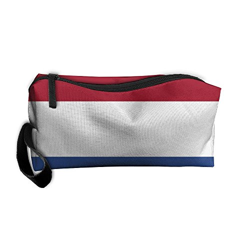 Netherlands Flag Toiletry Bag Medicine Bag Pencil Case Toiletry Pouch Makeup Organizer Clutch Bag With - To Usps Shipping Netherlands