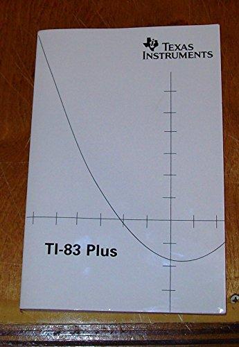 T1-83 Plus Graphing Calculator Handbook