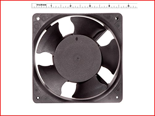 EC Extra Small Kitchen Exhaust Fan SIZE : 4.75″inches (12x12x3.8cm) square, Material : Thermoplastic, Color : Black, COMPATIBLE : For the room area of Length-5feet X Width-3feet X Height-7feet. MAA KU