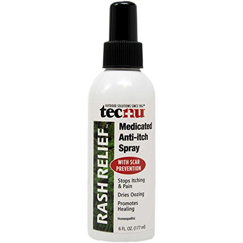 Medicated Anti Itch Spray - Tecnu Rash Relief Medicated Anti-Itch Spray, 6 oz. Pump Spray