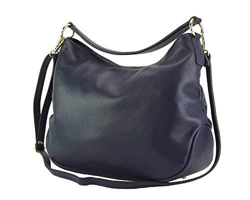 Bolso De Al Bolsos En Azul Market Selene Leather Becerro Florence Piel Oscuro Hombro 5759 AZUqpEaw