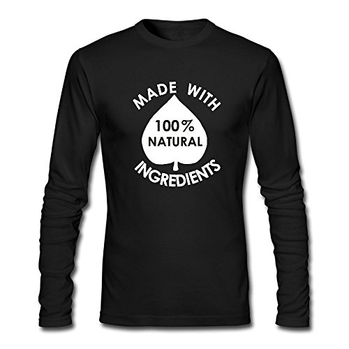 Ancient Icon Natural (Men's Adult Classic Leisure Icon Made With 100 Natural Ingredients Long Sleeve Tshirt)