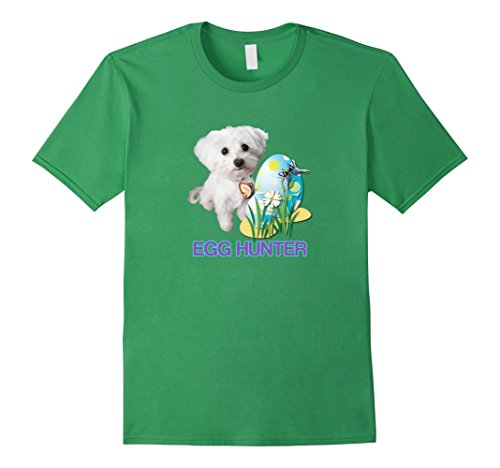 Happy Easter Maltese Dog Lovers Egg Hunter Cute T-Shirt