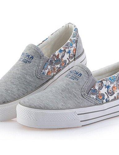 us5 Eu36 Zq Azul Grey A Redonda Grey 5 Punta Tacón Eu39 La 5 Cn35 Gris Tejido Uk3 Mujer Plano us8 Moda Casual Cn39 De Blanco Uk6 Zapatos Sneakers BxqwOrBS