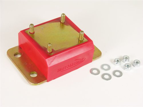 (Prothane 1-1601 Red Transmission Mount Kit for TJ)