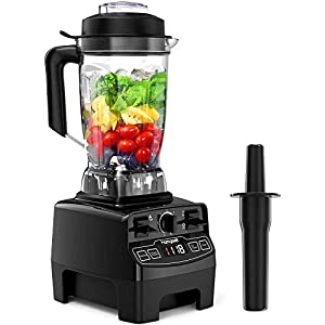 Blender 1450w, Homgeek Professional Countertop Blender Smoothie Maker with 68oz BPA Free Tritan Container, High Speed… 11
