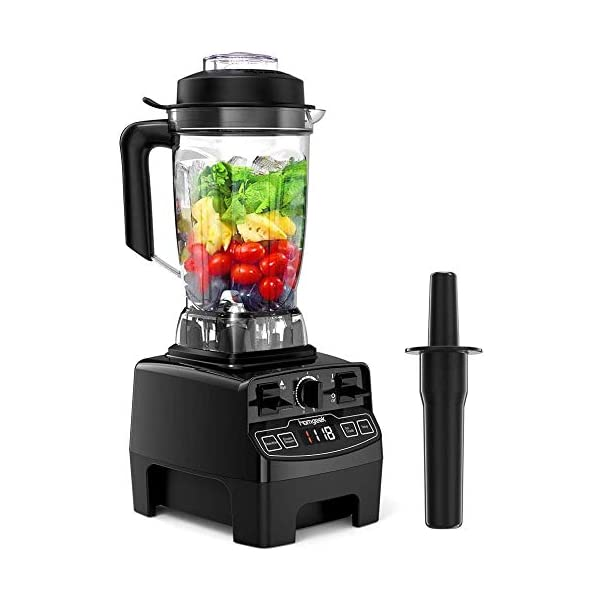 Blender 1450w, Homgeek Professional Countertop Blender Smoothie Maker with 68oz BPA Free Tritan Container, High Speed… 1