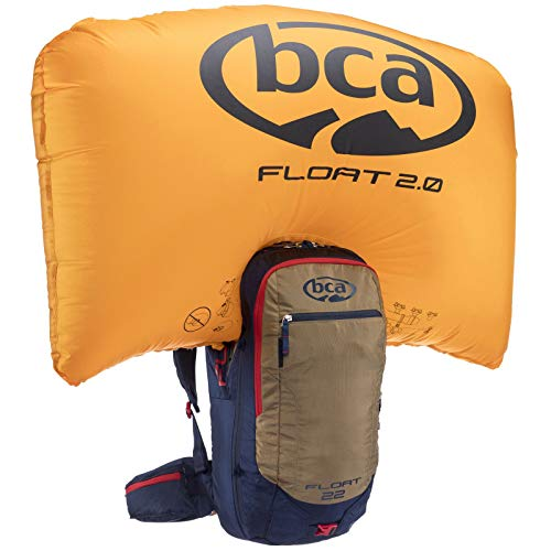 (BCA Float 22 Avalanche Airbag 2.0 Backpack (Navy/Tan))