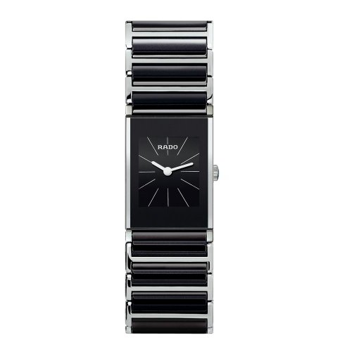 - Rado Women's R20786152 Integral Black Dial Watch