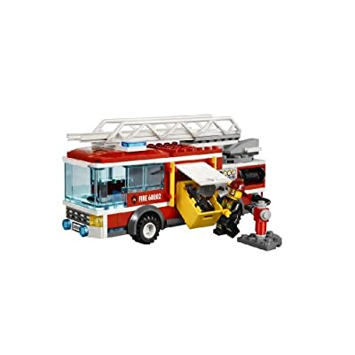 LEGO City Fire Truck 60002: Toys & Games