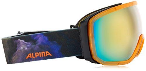 Alpina Lunettes de ski unisexe Scarabeo taille unique Trans. Orange