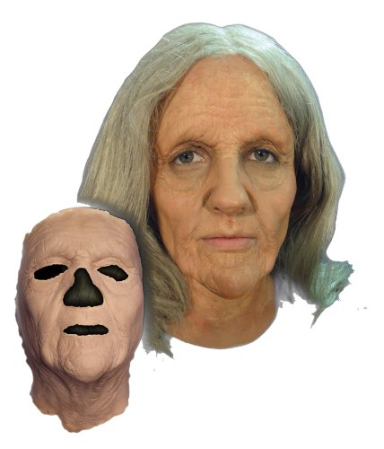 Prosthetic Old Woman Mask (Spirits Halloween 2017)