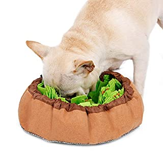 WSpring Snuffle Mat for Dogs Large, Dog Puzzle Toys for Smart Dogs, Slow Eating Dog Bowl, Dog Interactive Toys Encourages Natural Foraging Skills