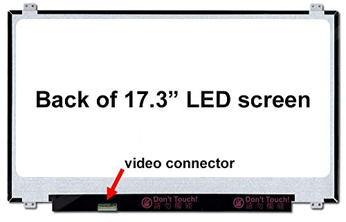 (LP173WF4(SP)(F5) New Replacement LCD Screen for Laptop LED Matte )