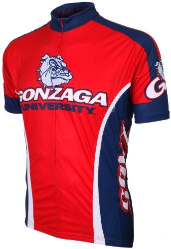 Gonzaga Jersey Cycling - NCAA Gonzaga Cycling Jersey,XX-Large