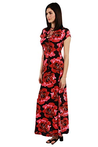 24/7 comfort apparel rosamond maxi dress