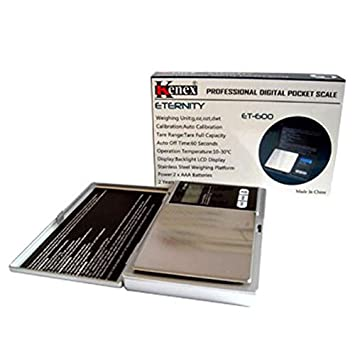 Báscula - Báscula de precisión KX-600 Eternity 0,1 G junto ...