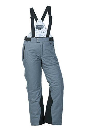 DSG Outerwear Craze 3.0 Bib/Pants, Charcoal Heather, X-Large by DSG Outerwear