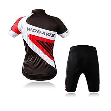 Outdoor Radsportbekleidung Set Männlich Atmungsaktiv Schnell Trocknend Sport Radfahren Fahrrad Kurzen Ärmeln Nylon Mesh Polyester KIKIYA