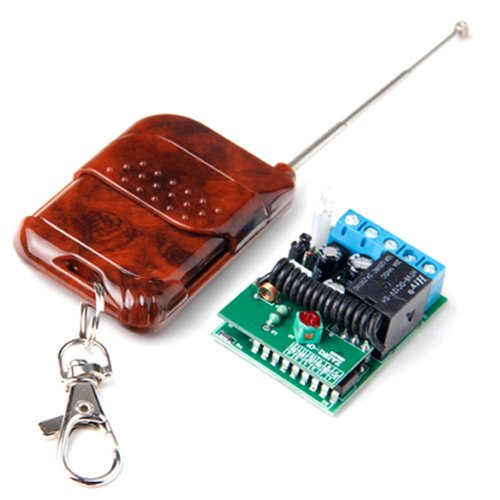 1 Button 433MHZ Wireless RF Switch Relay Remote Control + Receiver  Controller