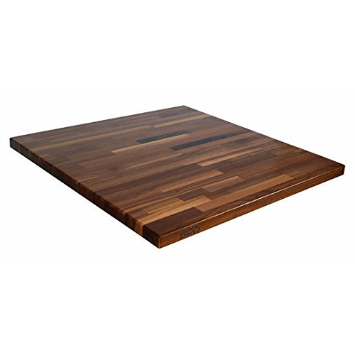 John Boos WALKCT-BL6030-O Blended Walnut Island Top with Oil Finish, 1.5'' Thickness, 60'' x 30''