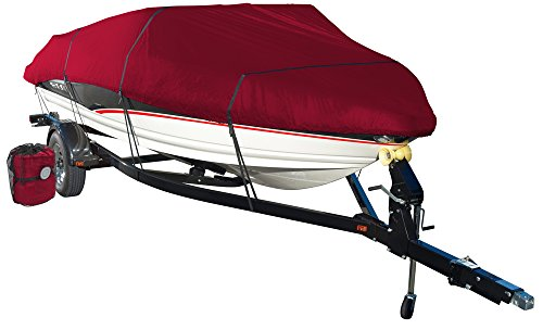 Wake by Eevelle Monsoon Series Model D Boat Cover - fits 17'-19' Long Boats