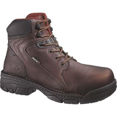 Men's Wolverine Falcon Peak AG Work Boots Brown, Brown, 14D