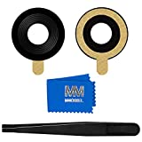 MMOBIEL Back Rear Camera Glass Lens Replacement Compatible with BlackBerry Keyone 2017 4.5 inch incl Tweezers and Cloth