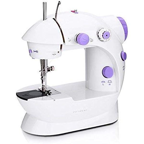 OurLeeme Mini Máquina de coser eléctrica Máquina portátil de 2 ...