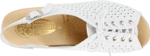 cheap discount authentic Worishofer Women's 583 Slingback Sandal White buy cheap low shipping original online cheap countdown package v0RQx0f9z