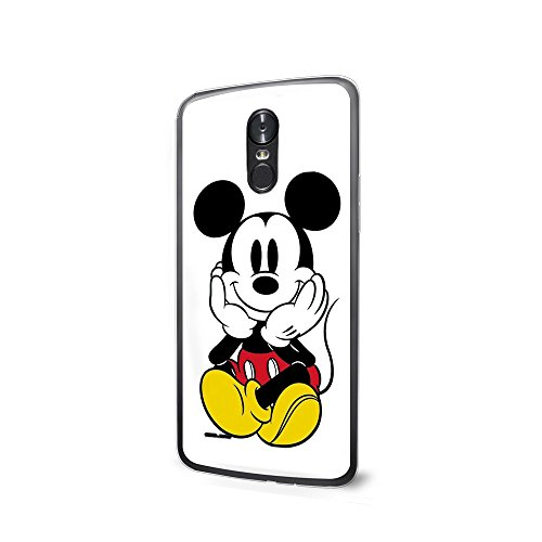 GSPSTORE LG K8 2017 Case Cartoon Mickey Minnie Mouse Plastic Protector Cover for LG Aristo/LG V3 MS210/LG LV3/LG Phoenix 3 Style3