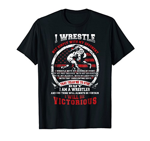 Wrestling I Wrestle T-shirt Great Gift For Wrestler Birthday