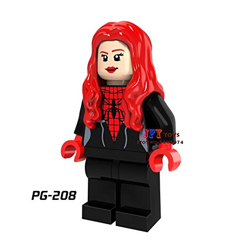 50pcs Super Heroes Marvel Spider-Man Homecoming Iron Man Building Blocks Bricks Hobby Model Kits Toys for Boys brinquedos menina PG208 from GENERIC