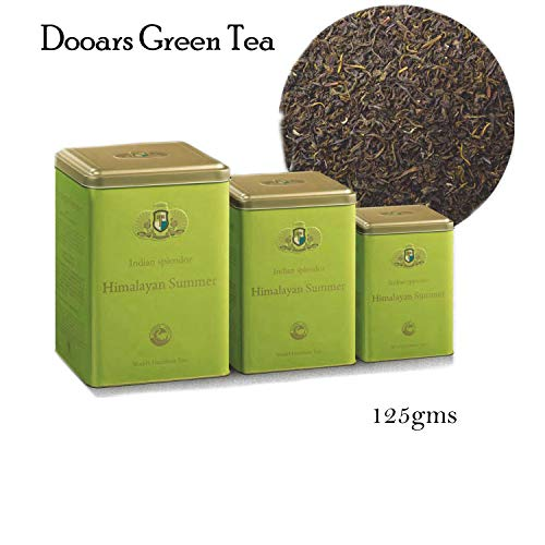 INDIAN SPLENDOR Himalayan Summer - Exclusively Handpicked, 100% Pure and Natural, Premium Dooars Green Tea Leaf (Light and Tangy).